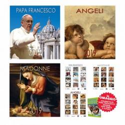 3 calendari: Papa Francesco...