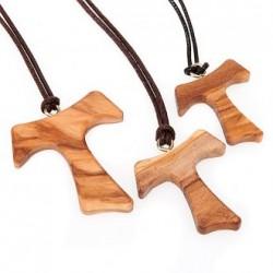 Tau in legno con cordicella